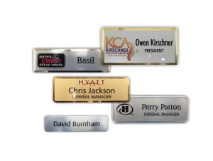 Metal Name Tags