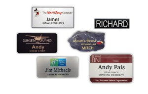 Plastic Name Tags