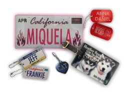 Custom key chains and other fun products from Tag UR It! Inc.
