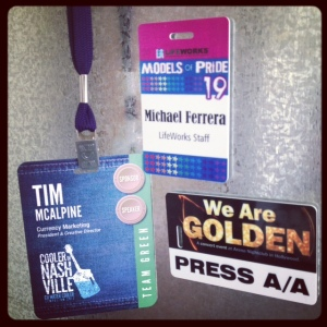 A selection of our I.D. Tags and event Tags.