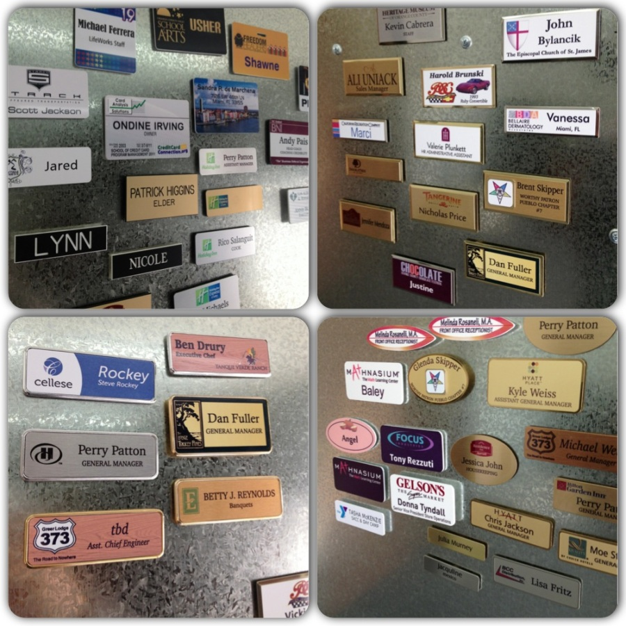 Let us help you find the best name tag for your company!
