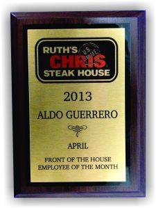 Employee Award Plaque