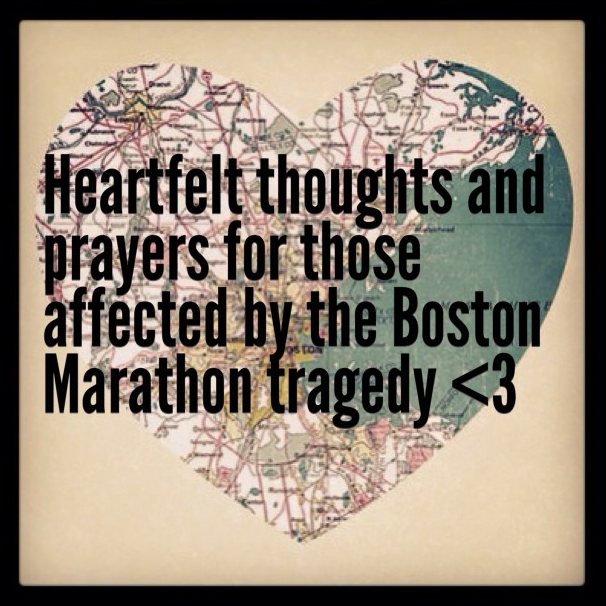 Heartfelt thoughts and prayers for Boston from Tag UR It! inc.