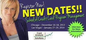 Ondine's School of Credit Card Program Management new dates announced!