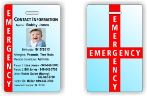 child information tag