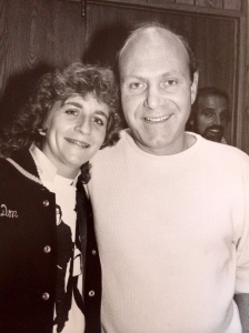 Our very own Tag Team President, Catheryn (age 16), with Tim Hauser at a Manhattan Transfer concert!