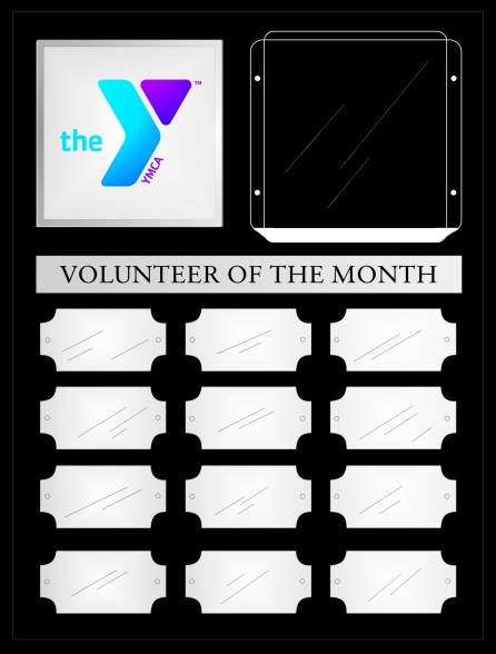 YMCA Volunteer Perpetual Plaques with Photo